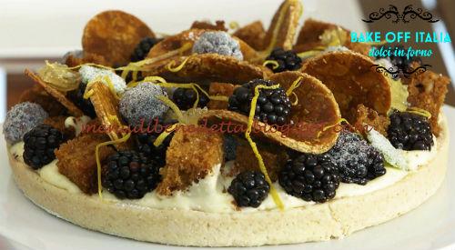 Torta Agatha Christie ricetta D'Onofrio da Bake Off Italia 5