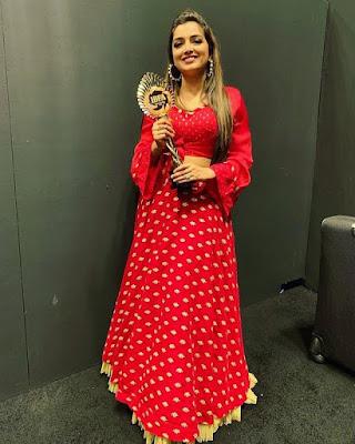 Amrapali Dubey  award