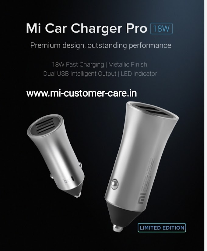 Mi 18W Car Charger Pro.