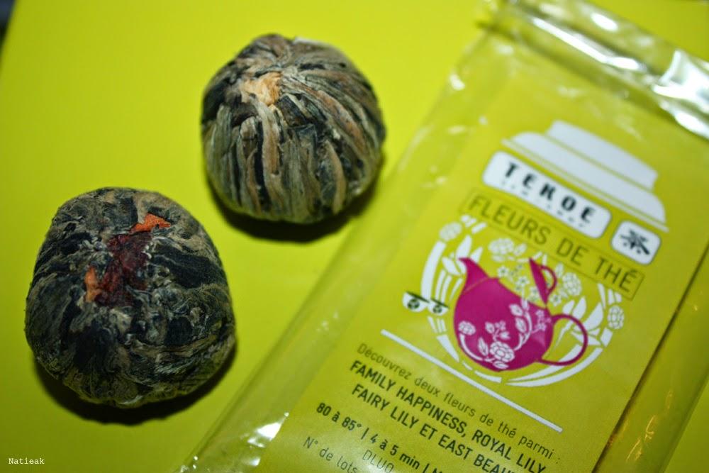 fleurs de thé Envouthé et tekoe