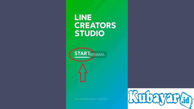 membuat stiker line creator studio