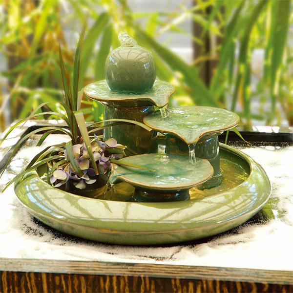le blog de l 39 accro du feng shui fontaine une nouvelle fontaine pour mon coin est. Black Bedroom Furniture Sets. Home Design Ideas