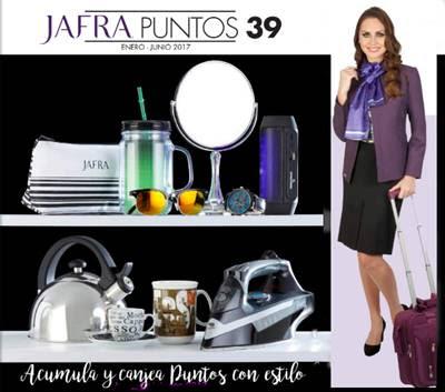 Jafra puntos 39 2017 catalogo completo de enero a junio for Puntos galp catalogo 2017