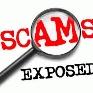 Scam exposed logo