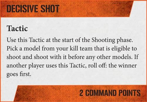 Tácticas Kill Team