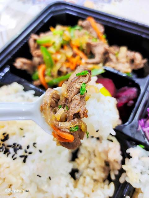 Makan Tengahari Japanese Bento Set GBW Hotel Ni Memang Puashati!