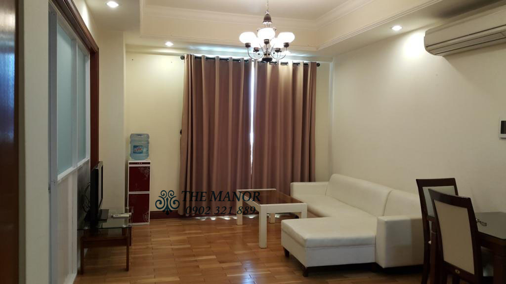 Căn hộ 1PN cho thuê tại block G tầng 8 The Manor Nguyễn Hữu Cảnh