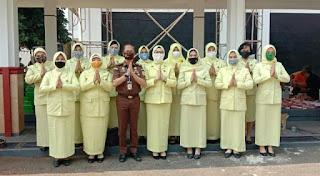 Qurban di Masa Pandemi, Badiklat Kejaksaan Terapkan Protokol Kesehatan