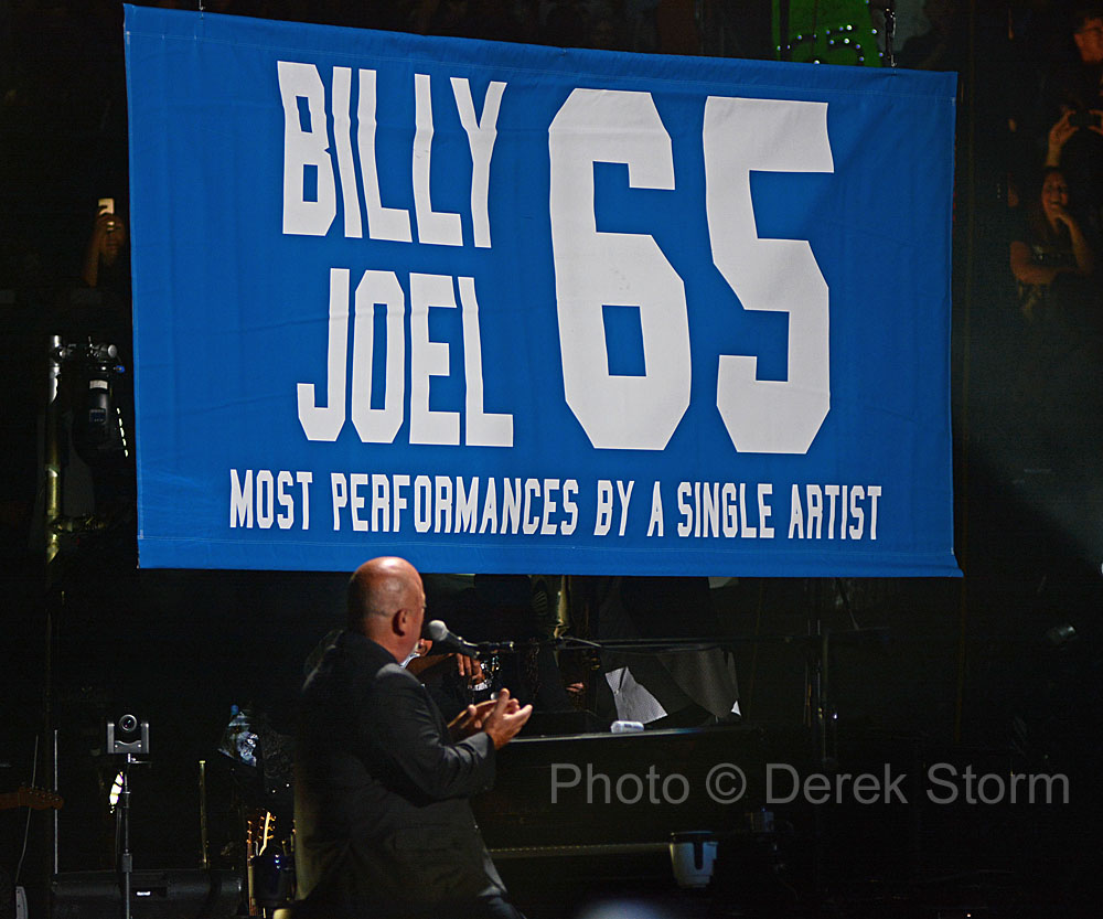 In the news billy joel plays 65th show at madison square - Billy joel madison square garden march 3 ...