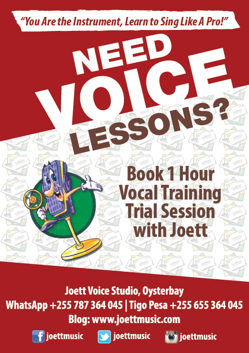 Joett's Music Blog: Private Vocal Training Programs at Joett Voice