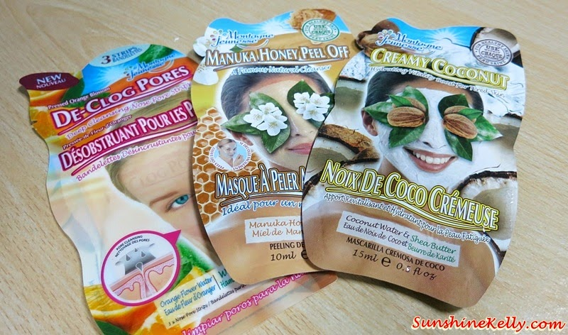 My Masking Time, Montagne Jeunesse Mask, Creamy Coconut Mud Mask, Manuka Honey Peel Off Mask, De Clog Pores Patch, Facial Mask