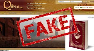 Fake Quran Websites