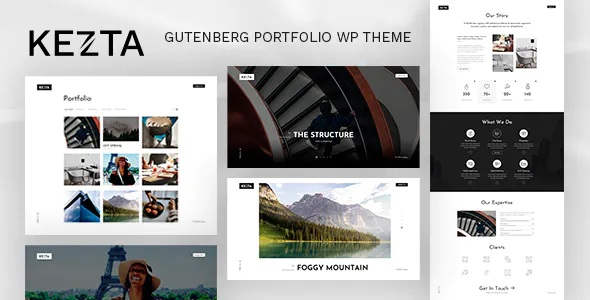 Best Gutenberg Portfolio for WordPress Theme