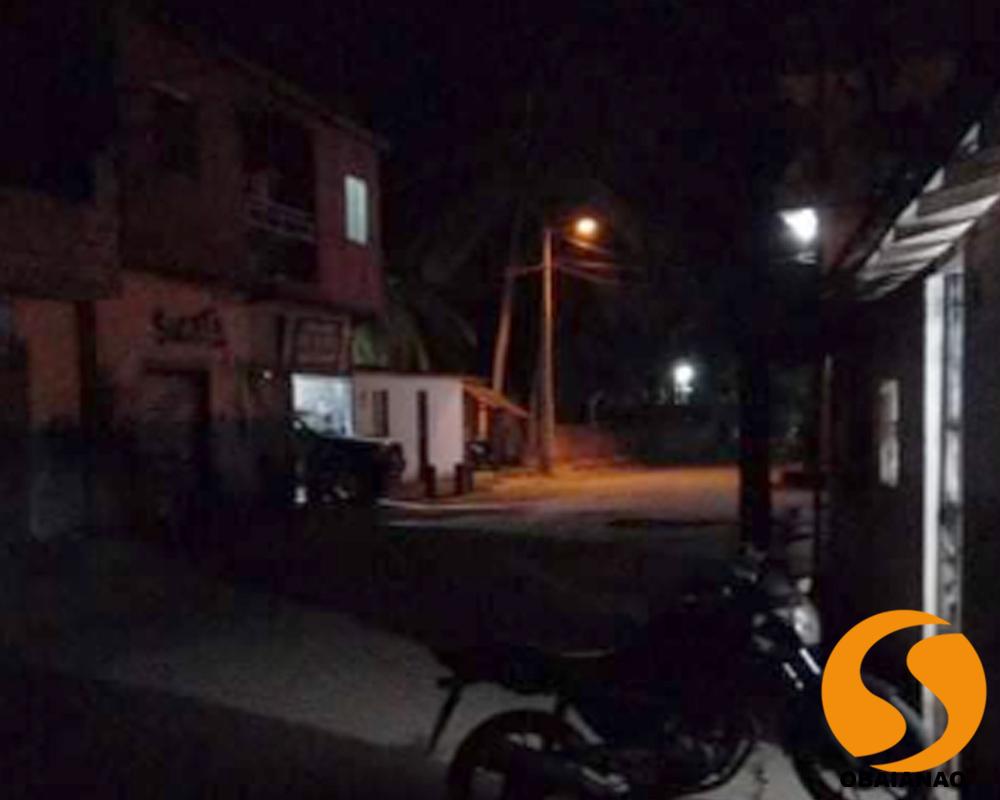 Morador do Paraguai denuncia buracos e ruas escuras no bairro
