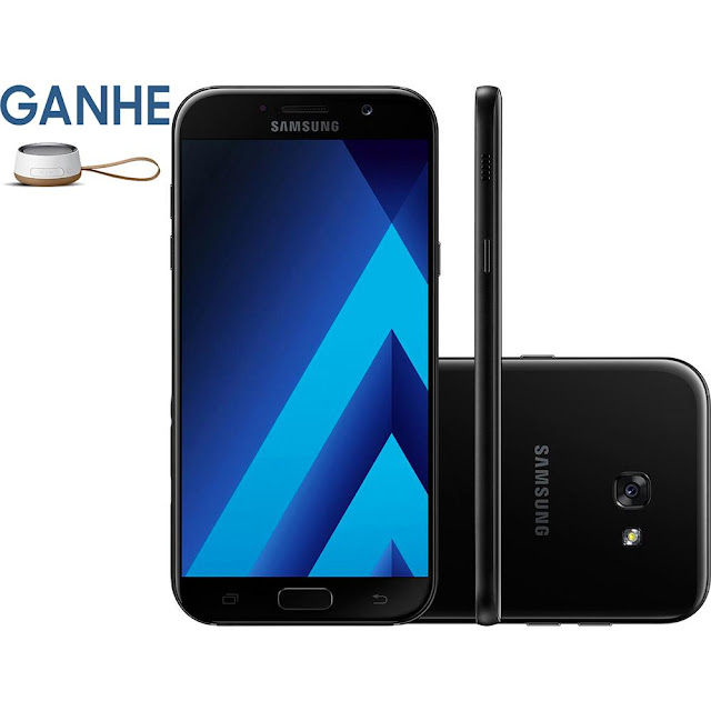 "Comprar Smartphone Samsung Galaxy A5 Android 6.0 Tela 5.2"" Câmera 16MP"