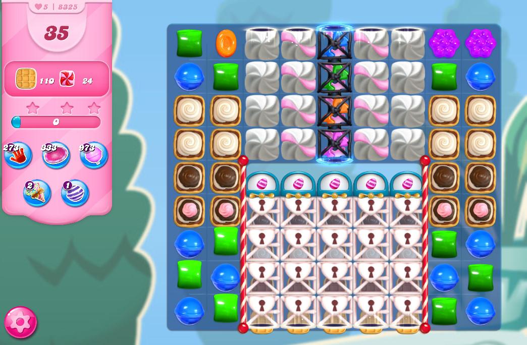 Candy Crush Saga level 8325