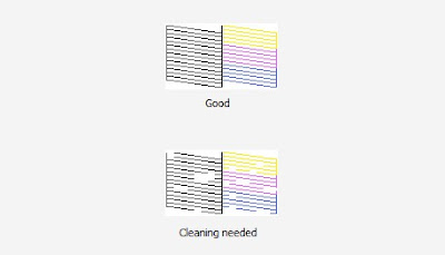 cara cleaning printer windows 10