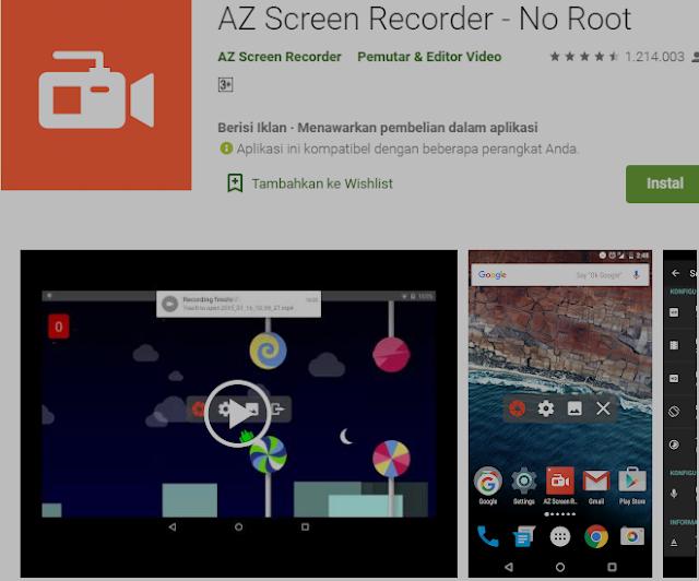 Aplikasi Gratis untuk Merekam Layar Anda di Android. 3