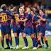 Goleada azulgrana en la ida de la Champions