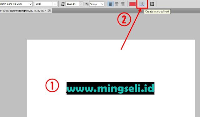 Cara Membuat Tulisan Bergelombang di Photoshop