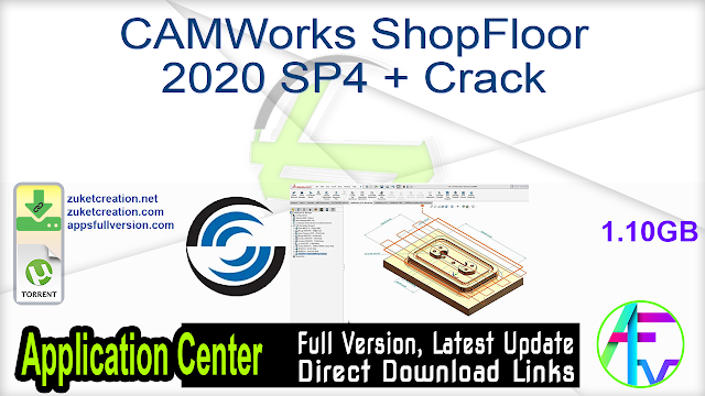 CAMWorks ShopFloor 2020 SP4 + Crack