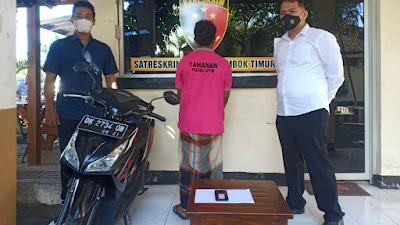 Menjambret, Dua Warga Lombok Tengah Dibekuk Tim Puma Polres Lotim