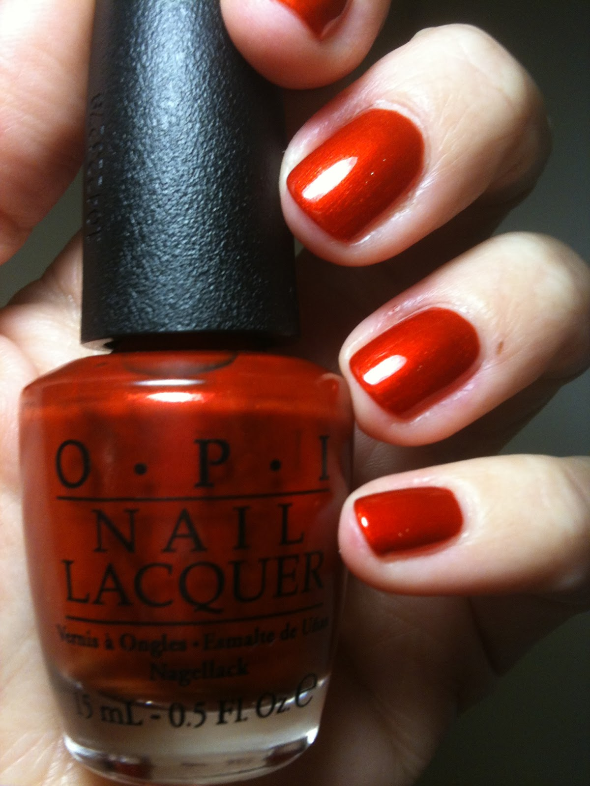 Deutsch You Want Me Baby Opi Collezione Germany 2012