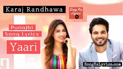 yaari-lyrics-karaj-randhawa