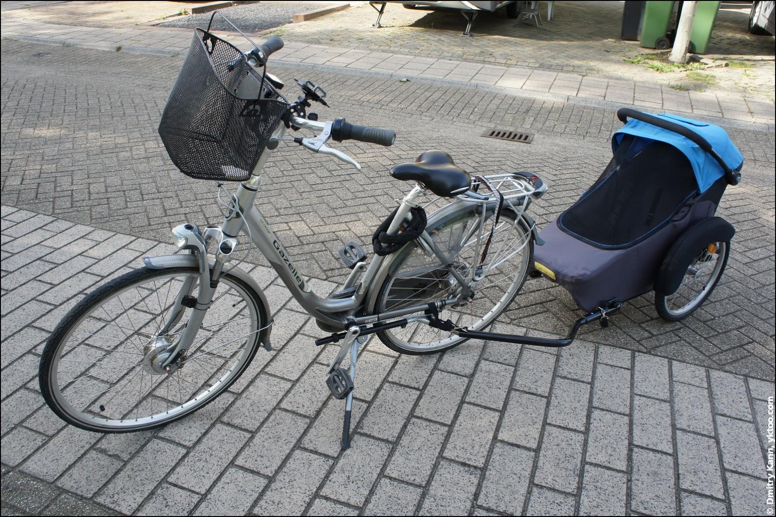 Велоприцеп Twinny Load Hera.