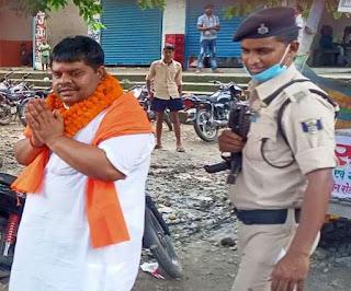 चुनाव से एक दिन पहले आरा में जेडीयू विधायक प्रभुनाथ राम पर जानलेवा हमला