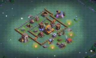 Builder Hall 4 Anti Ground Attacks bases