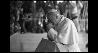 Catholic Poland John Paul II Majdanek prison war genocide history