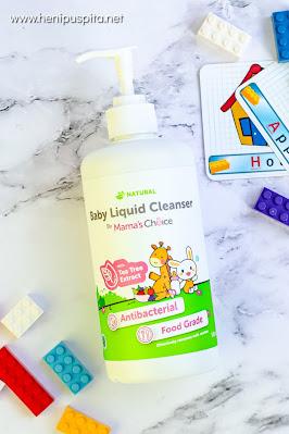 8 Keunggulan Sabun Pencuci Khusus Bayi Mama's Choice Baby Liquid Cleanser