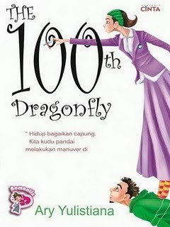 Sinopsis Buku 100th Dragonfly, cover depan novel