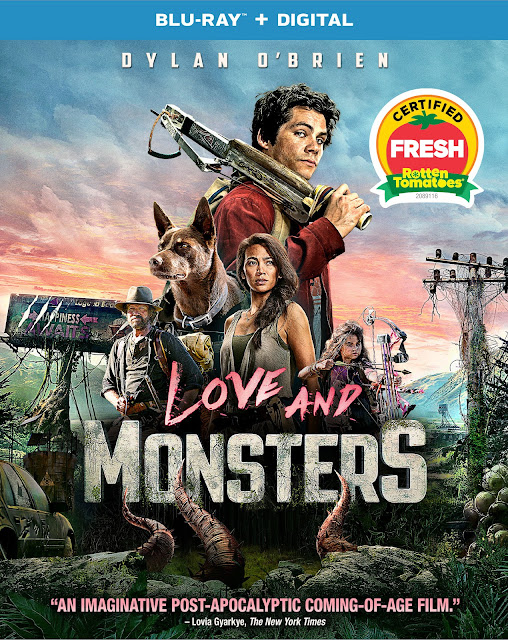 Blu-ray Review - Love and Monsters (2020)