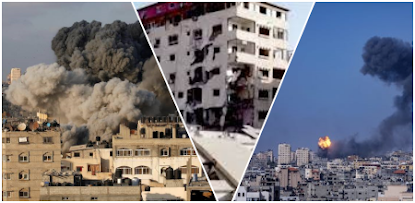 """Piden investigación internacional sobre aparentes crímenes de guerra"""" cometidos entre Israel y Gaza"""