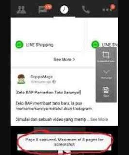 Cara Screenshot Oppo