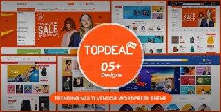 TopDeal - Multi Vendor Marketplace Elementor WooCommerce WordPress