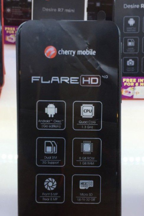 Cherry Mobile Flare A2 Lite, Flare HD 4 0 - Two More Android Go
