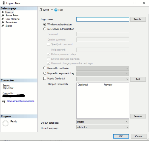 Perbedaan SQL Server Authentication dan Windows Authentication