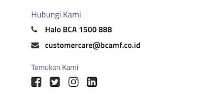 alamat email bca finance