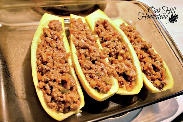 Use this stuffing recipe for stuffed peppers or squash