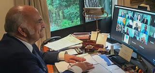 الأمير الحسن يدعو للعمل معًا لإحياء منظومة الأخلاقيات المشتركة القائمة على التضامن الإنساني