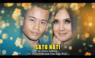 Lirik Lagu Satu Hati - Nella Kharisma Ft Arga Wilis