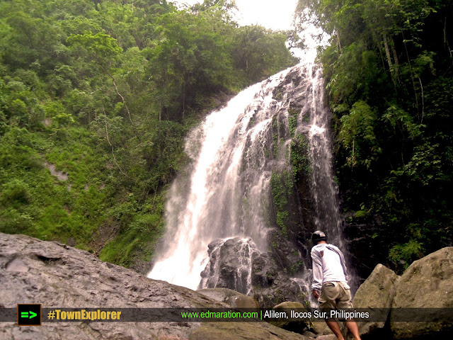 Balay Anito Falls | of Motorcycle Ride and Trekking Barefoot