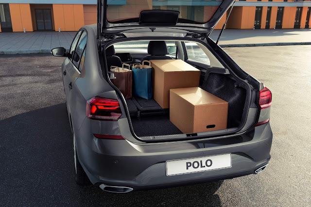 Novo VW Polo Sedan 2021: fotos e especificações oficiais