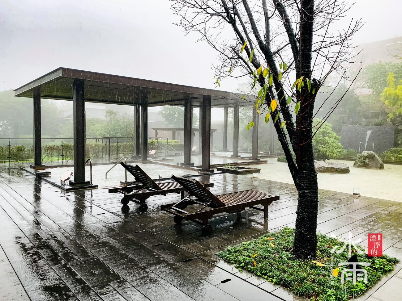 陽明山天籟溫泉會館|露天風呂