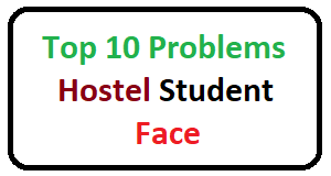 Hostel Student's Initial Problems