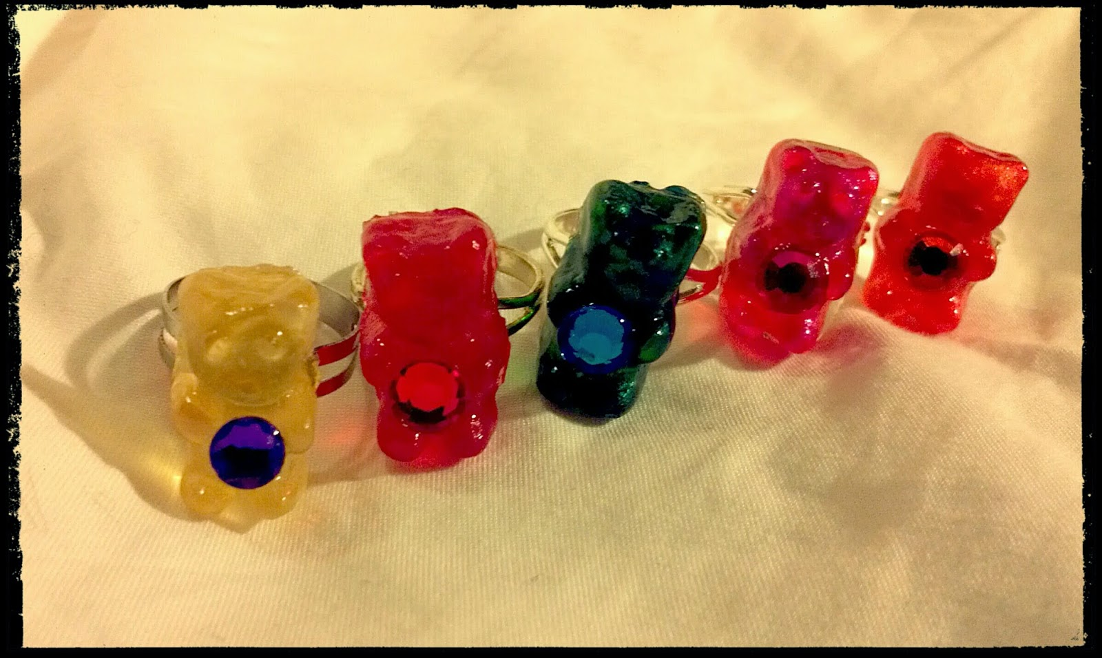 NEW Gummy Bear Rings!