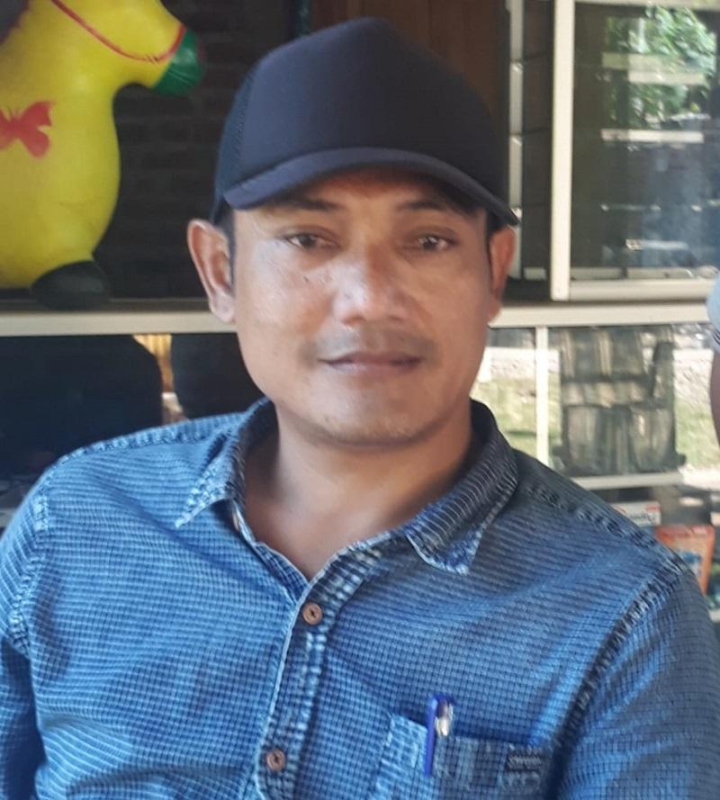 Kepala Desa Sukapura Prioritaskan Pembangunan